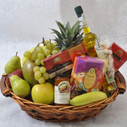 CARISMA FLORISTS® Fruit & Gourmet Basket CF-08