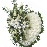 CARISMA FLORISTS® White Heart