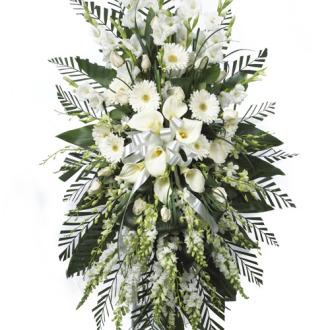 CARISMA FLORISTS® White Standing Spray