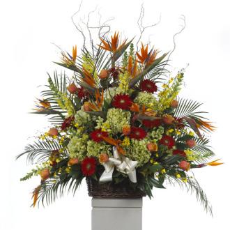 CARISMA FLORISTS® Basket Arrangement