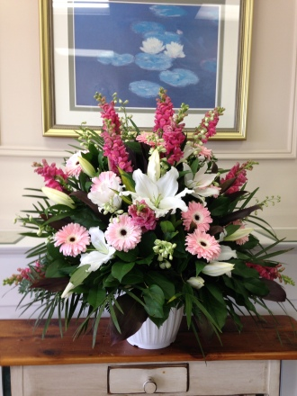 Carisma Florists® Special Arangement Pinks and Whites