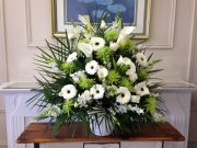 Carisma Florists® Special Arangement Whites and Greens
