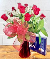 ROSES AND BACI'S BOUQUET
