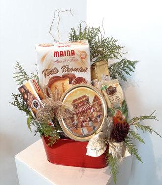 Gourmet Christmas Basket Montreal, QC
