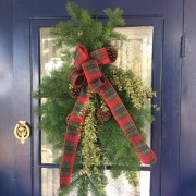 Holiday Door Swag