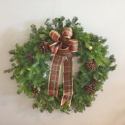 The Edgewood Holiday Wreath