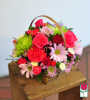 beretania florist olivia basket honolulu hawaii flower basket delivery