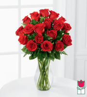 Beretania's 1.5 Dozen Medium Stem Rose Arrangement