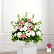 kau sympathy arrangement funeral flower delivery in honolulu hawaii