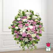 Wela funeral wreath delivery in honolulu hawaii funeral florist flowers