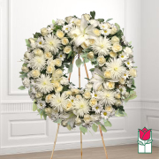 Kawela funeral wreath delivery in honolulu hawaii funeral florist flowers