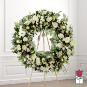 Splendor funeral wreath delivery in honolulu hawaii funeral florist flowers