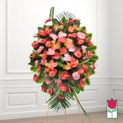 Beretania's Manoa Tropical Wreath