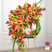 Beretania's Kokee Tropical Wreath