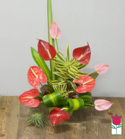 Beretania's Lovely Hawaiian Tropical Bouquet