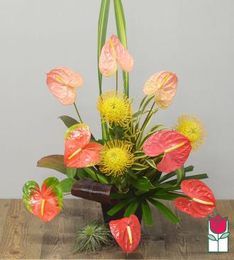 Beretania\'s Sweetheart Tropical Bouquet