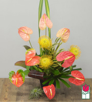 Beretania's Sweetheart Tropical Bouquet