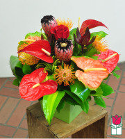 Beretania's Paradise Tropical Bouquet