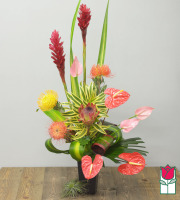 Beretania's Exotic Beauty Tropical Bouquet