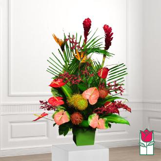 beretania florist pawaina tropical arrangement
