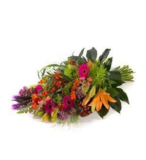 Funeral Bouquet Colourful