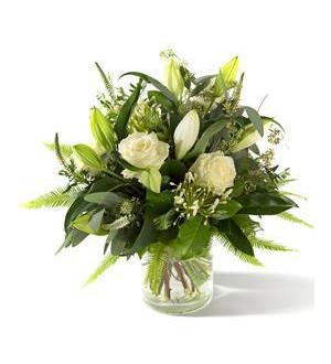 Funeral / Sympathy Bouquet Lily