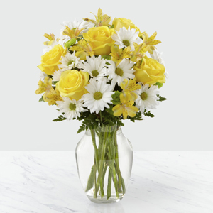 Le bouquet Sunny Sentiments ™ de FTD®