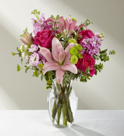 The FTD® Pink Posh™ Bouquet
