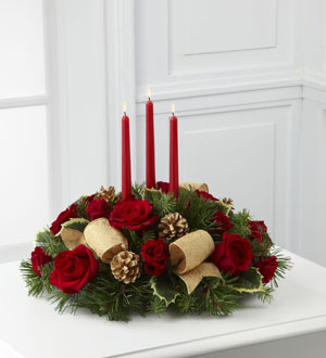 The FTD® Celebration of the Season™ Centerpiece