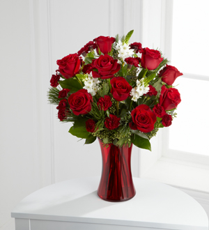 The FTD® Holiday Romance™ Bouquet