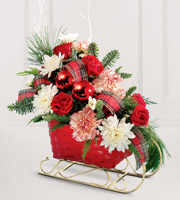The FTD® Sleigh Ride™ Arrangement