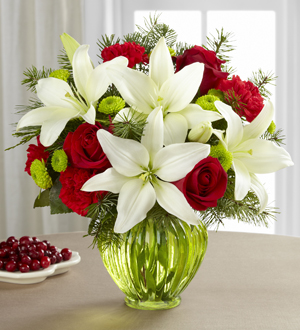 The FTD® Winter Elegance™ Bouquet
