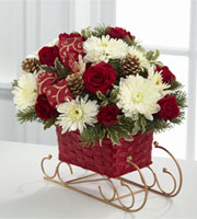The FTD® Season's Sleigh Ride™ Bouquet