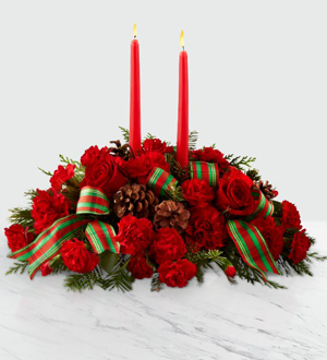 The FTD® Holiday Classics™ Centerpiece