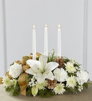 The FTD® Season\'s Glow™ Centerpiece