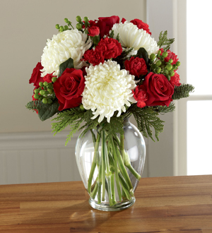 The FTD® Holiday Enchantment™ Bouquet
