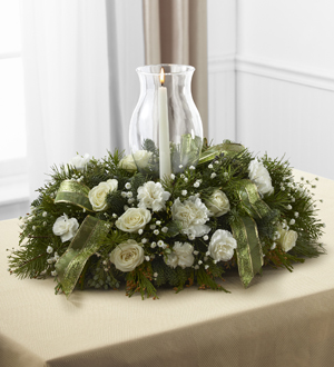 The FTD® Glowing Elegance™ Centerpiece