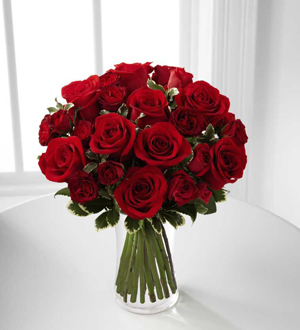 Le bouquet de roses Romance en rouge™ de FTD®