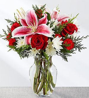 The FTD® Frosted Findings™ Bouquet