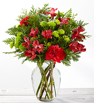 Le bouquet Holiday Happenings™ de FTD®