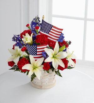 The FTD® American Glory™ Bouquet
