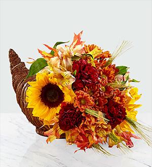 The Ftd Fall Harvest Cornucopia