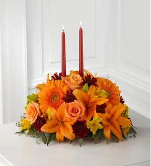 Bensalem PA Florist - The FTD® Bright Autumn™ Centerpiece