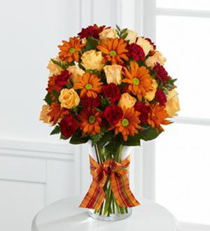 The FTD® Golden Autumn™ Bouquet