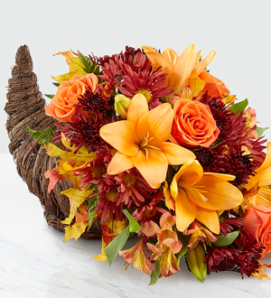 The FTD® Harvest Comfort™ Cornucopia