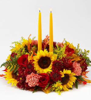The FTD® Giving Thanks™ Candle Centerpiece