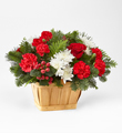 The FTD® Good Tidings™ Floral Basket