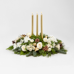 The FTD® Frosted™ Centerpiece