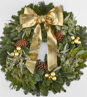The FTD® Shimmer & Glimmer™ Wreath