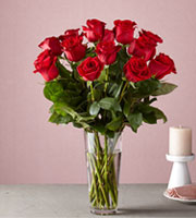 The FTD® Long Stem Red Rose Bouquet